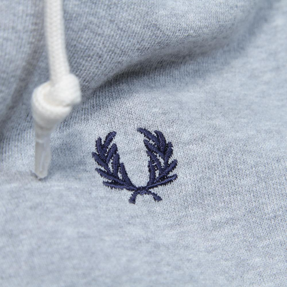 Fred Perry Hooded Sweat - Vintage Marl