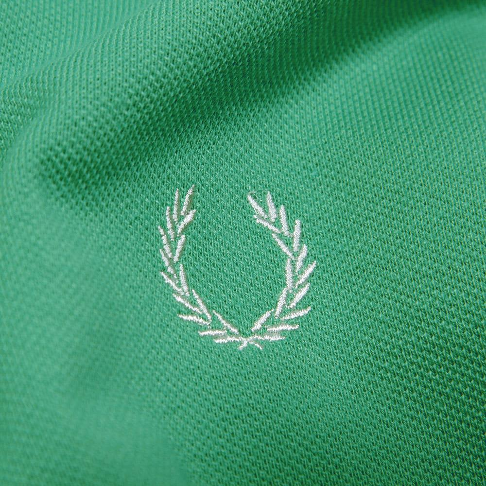 Fred Perry Japanese Tipped Polo - Clover