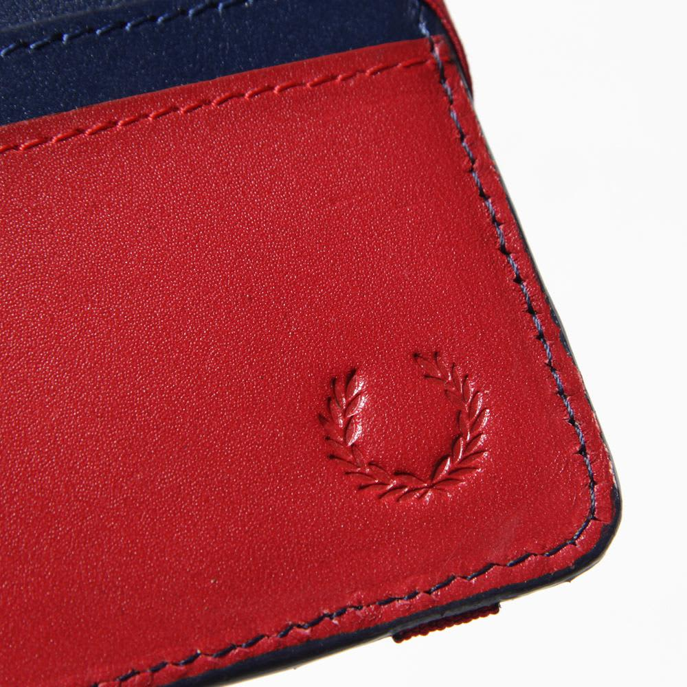 Fred Perry Billfold Wallet - Medieval Blue