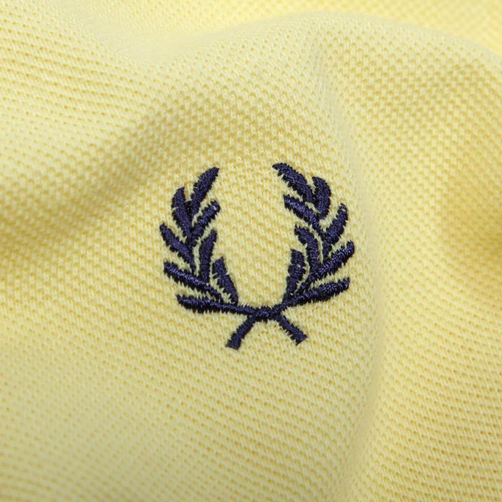 Fred Perry Twin Tipped Polo - Sunshine