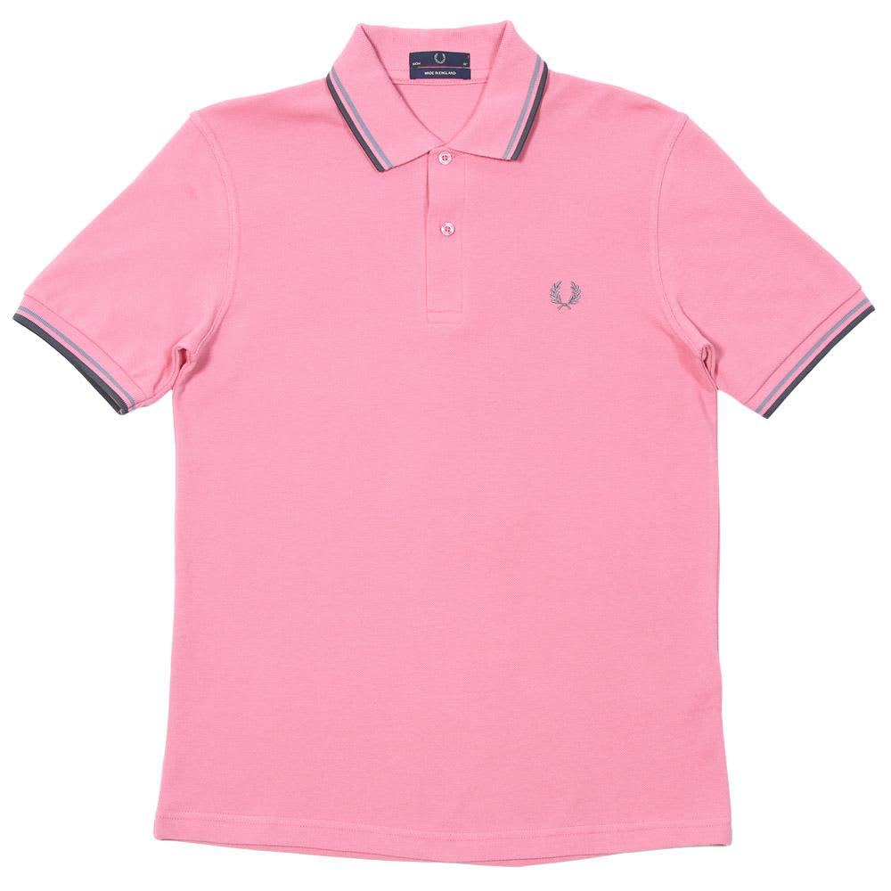 Fred Perry Twin Tipped Polo - Watermelon