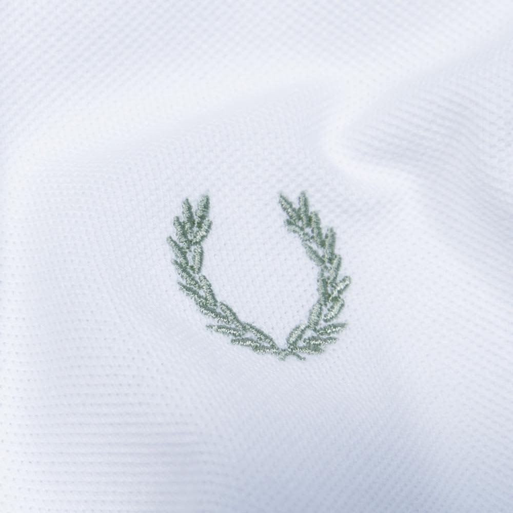 Fred Perry Japanese Tipped Polo - White
