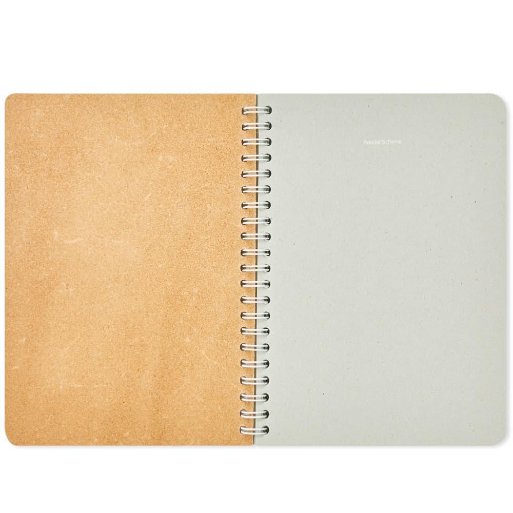 Hender Scheme A5 Ruled Notepad - Beige