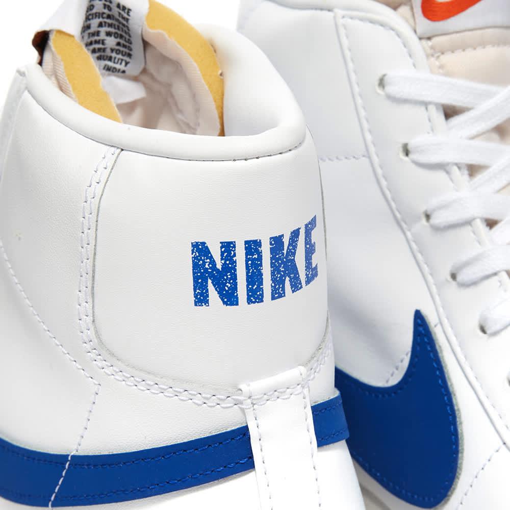 Nike Blazer Mid '77 Vintage - White, Racer Blue & Sail