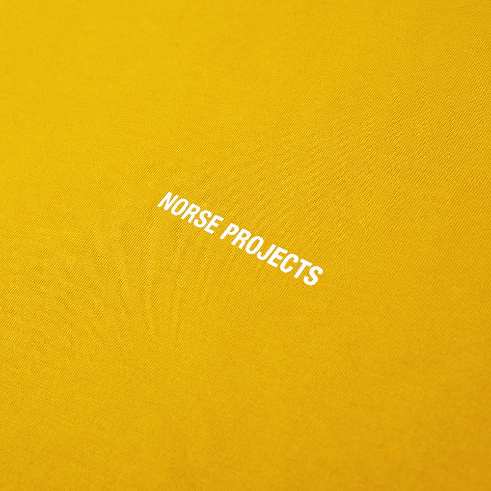 Norse Projects Niels Logo Tee - END. Exclusive - Montpellier Yellow & White