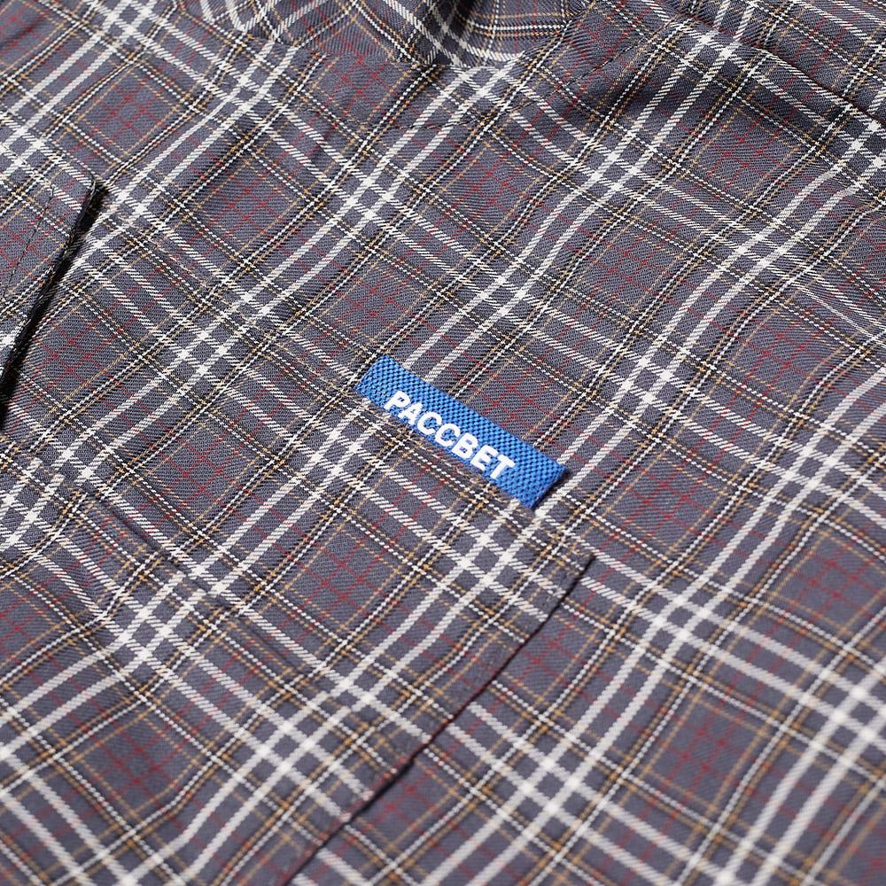 PACCBET Cotton Zip Off Shirt - Grey