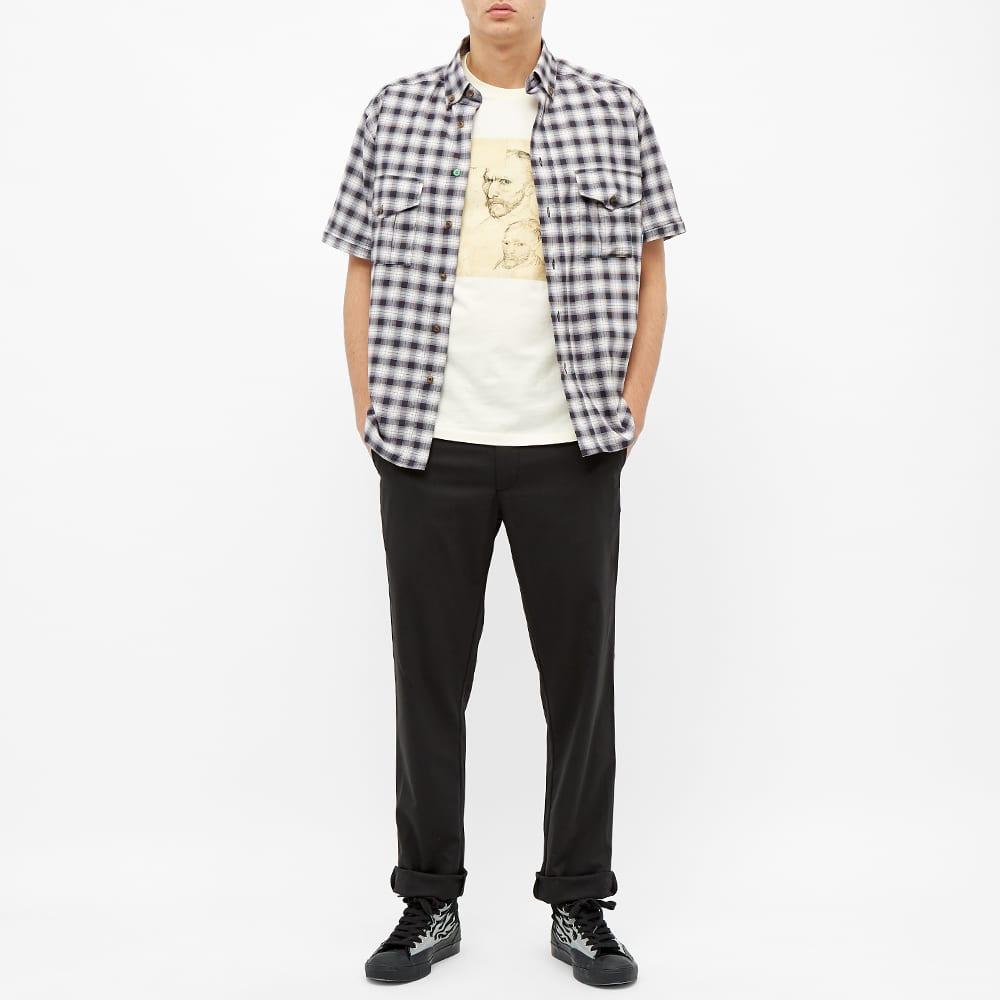 PACCBET Cotton Zip Off Shirt - White