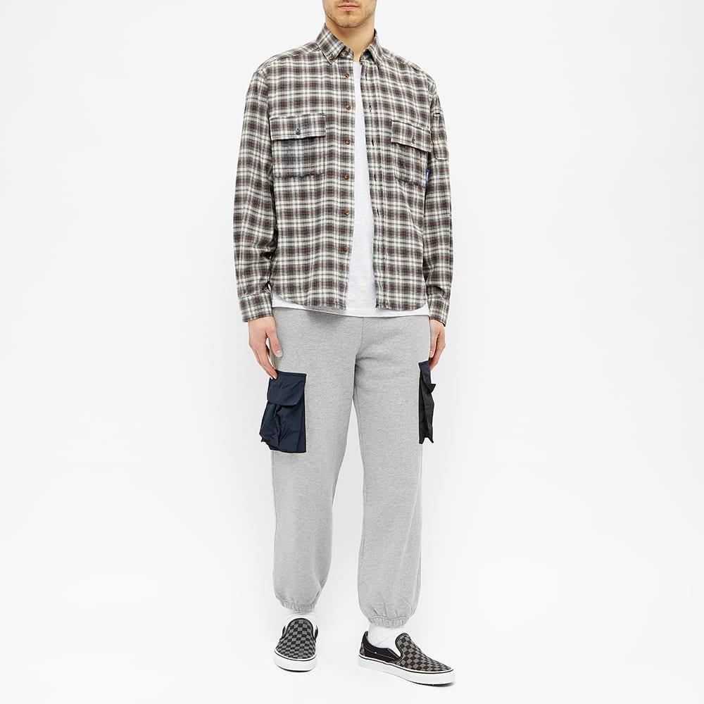 PACCBET Flannel Shirt - Grey