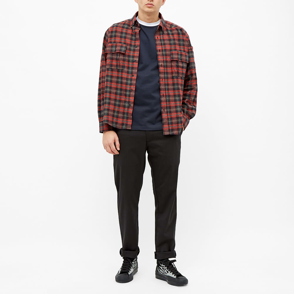 PACCBET Flannel Shirt - Red