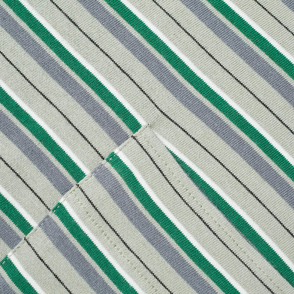 PACCBET Pinstripe Tee - Green