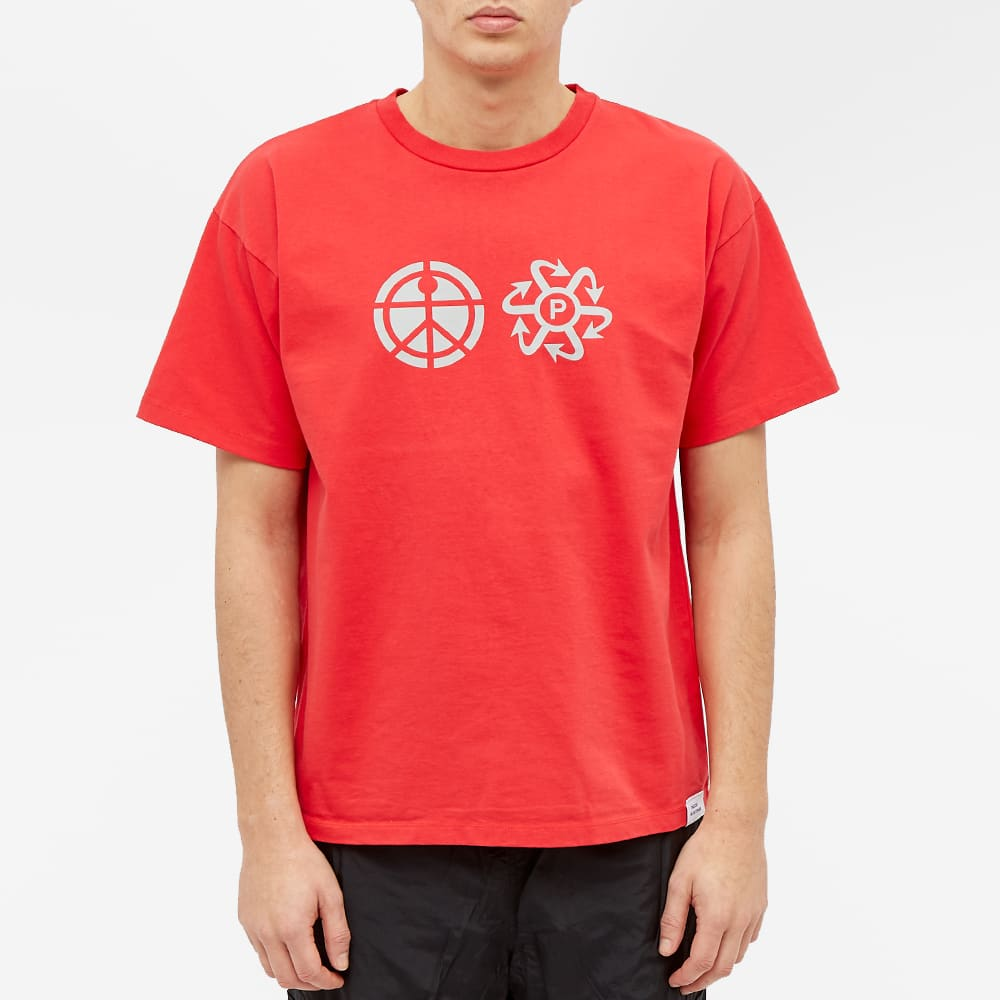 PACCBET Print Logo Tee - Red