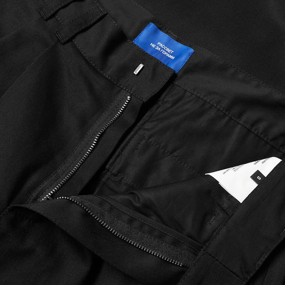 PACCBET Zip Off Chino - Black