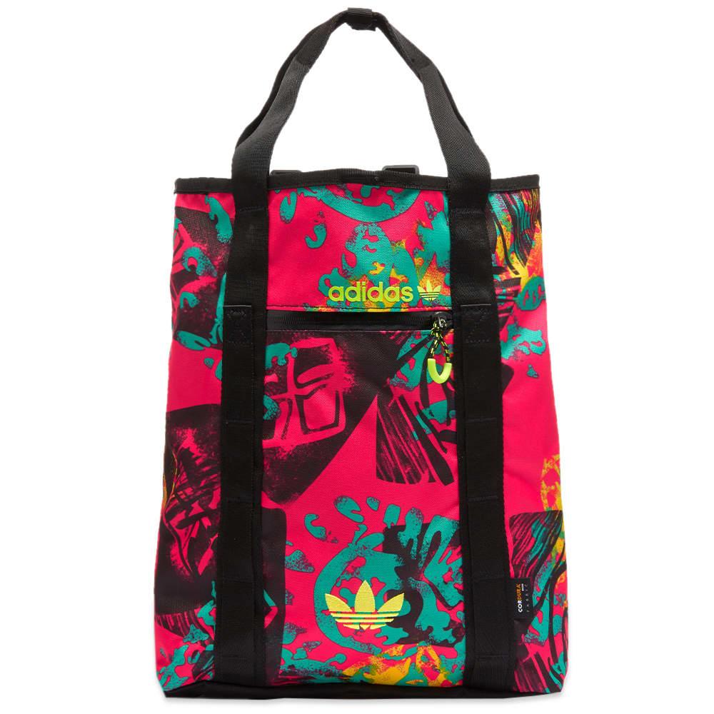 Adidas Adventure Tote Bag - Multi, Black & Green