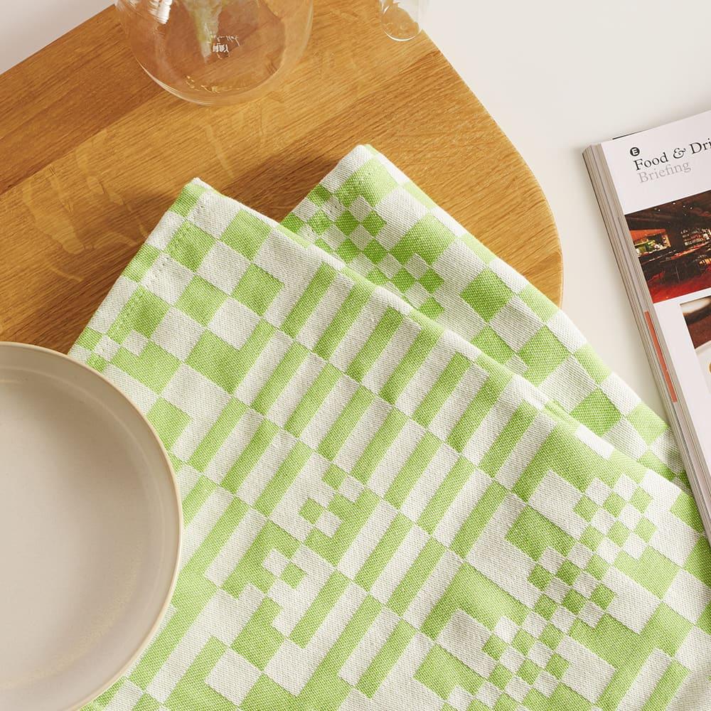 Dusen Dusen Tea Towel - Check