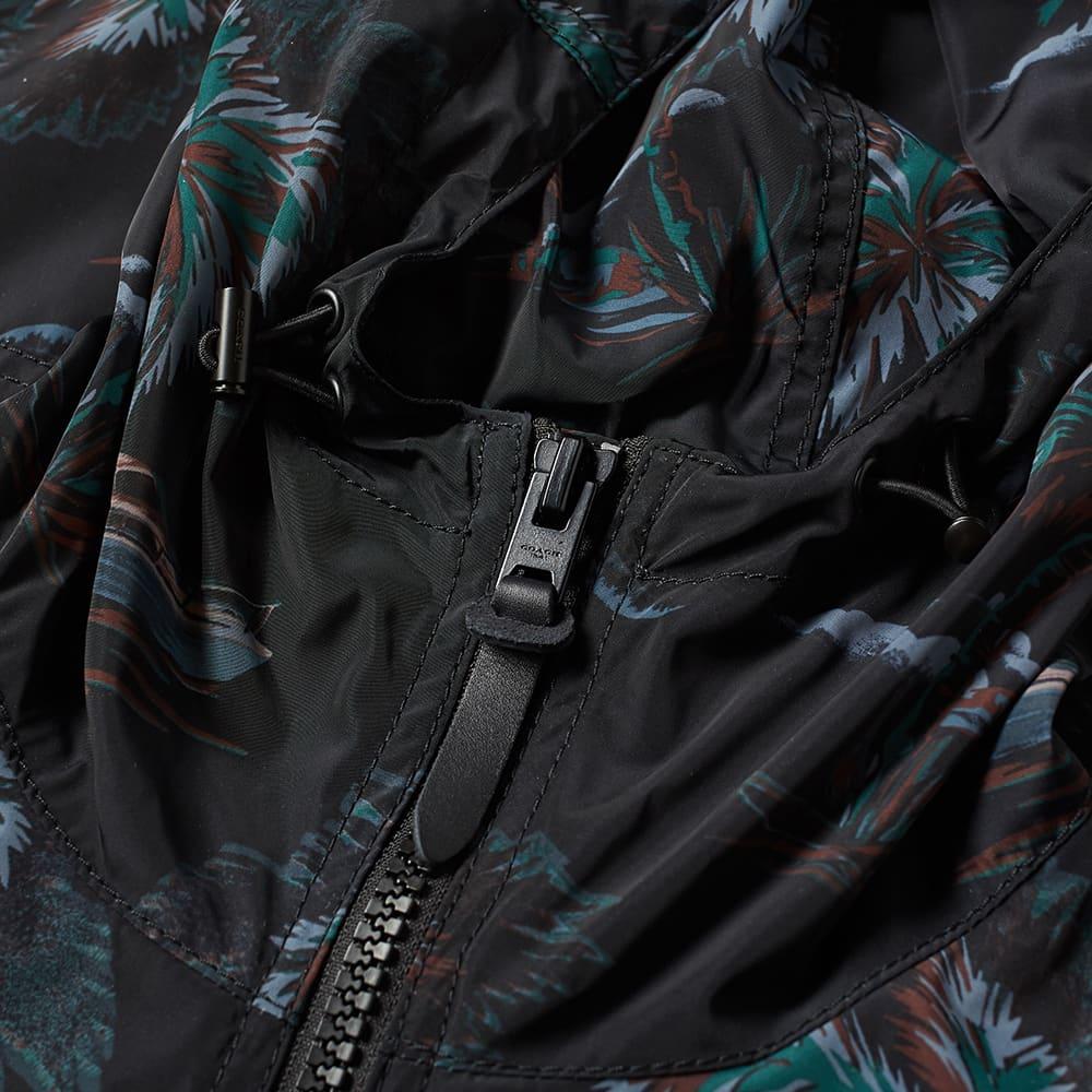 Coach Rexy Jungle Print Windbreaker - Black Multi