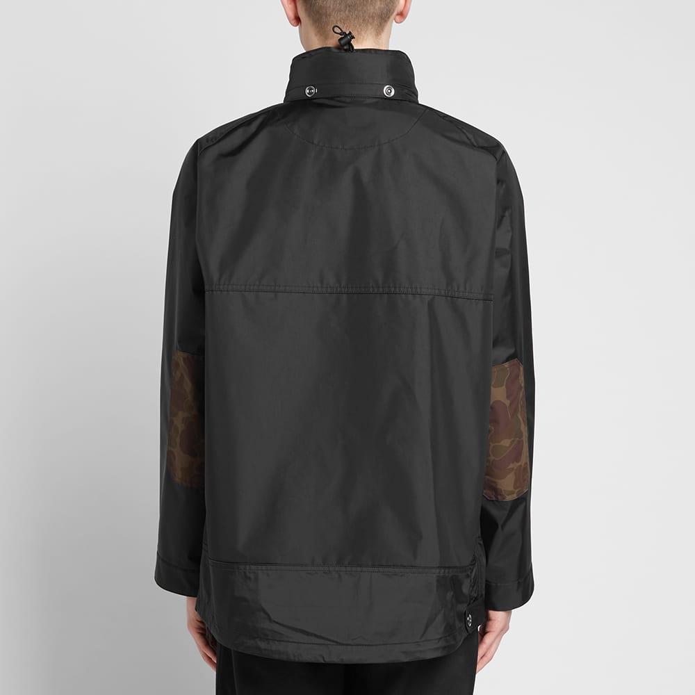 Junya Watanabe MAN Camo Arm Popover Hooded Jacket - Black
