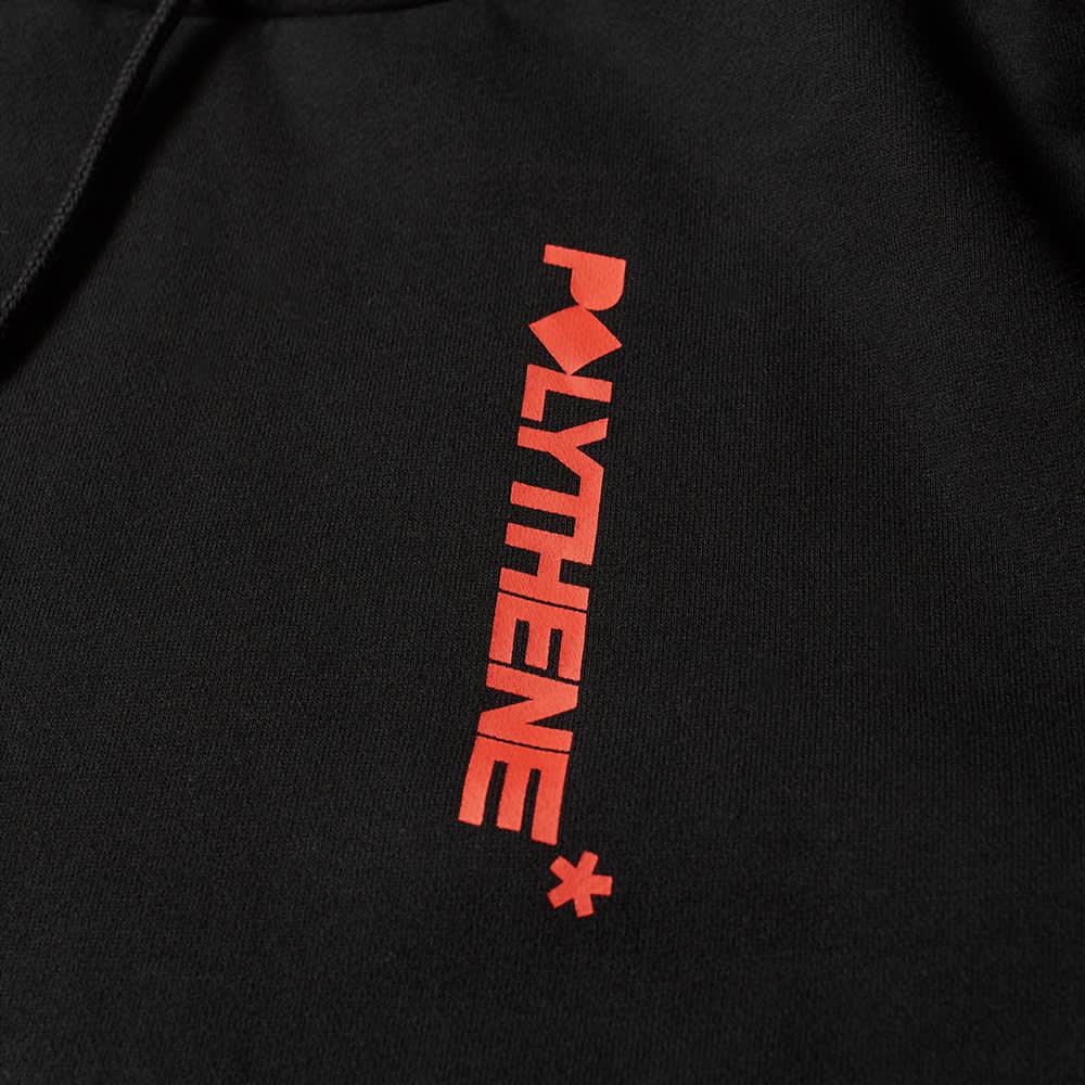 Polythene Optics Logo Popover Hoody - Black & Red