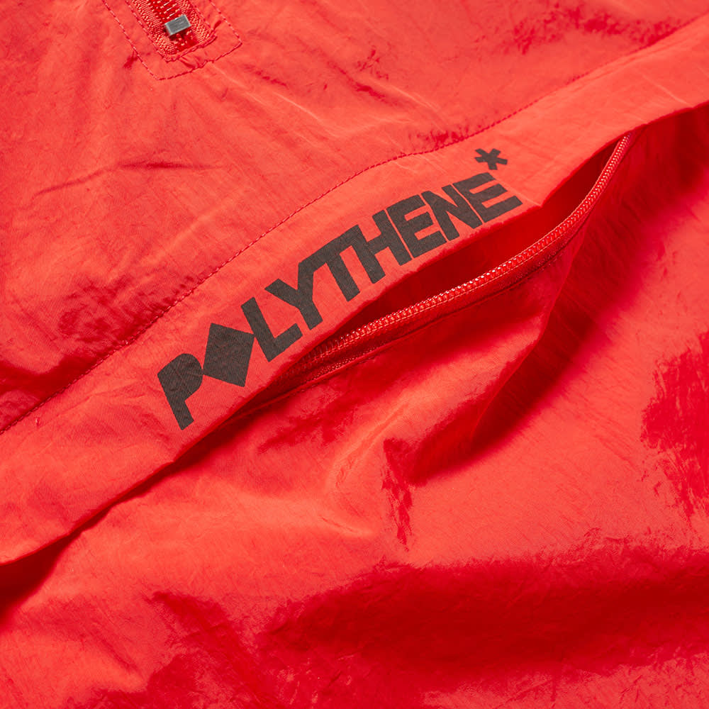 Polythene Optics Popover Jacket - Red & Black