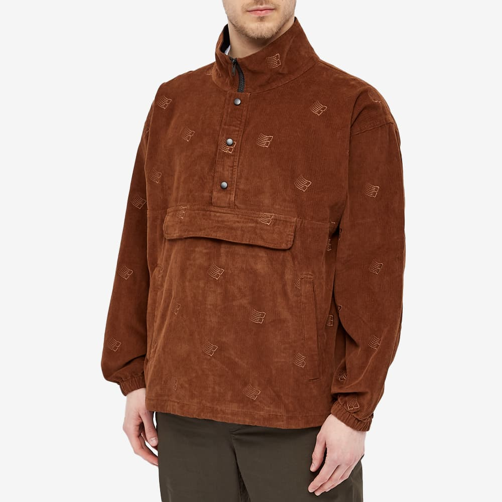 Bronze 56k All Over Embroidered Anorak - Brown