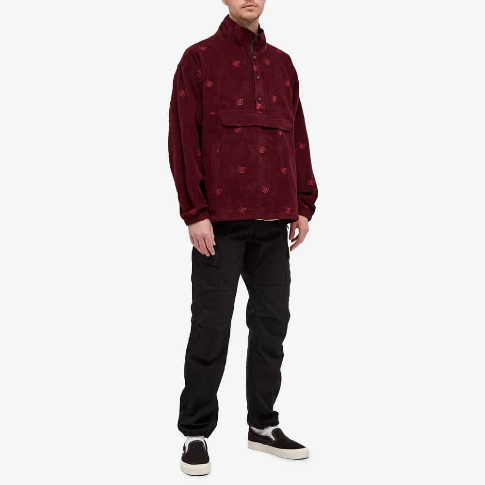 Bronze 56k All Over Embroidered Anorak - Maroon