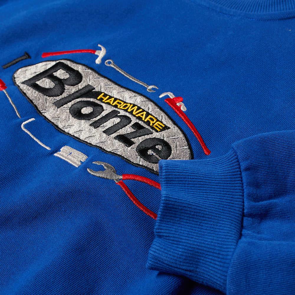 Bronze 56k Tool Time Crew Sweat - Royal Blue