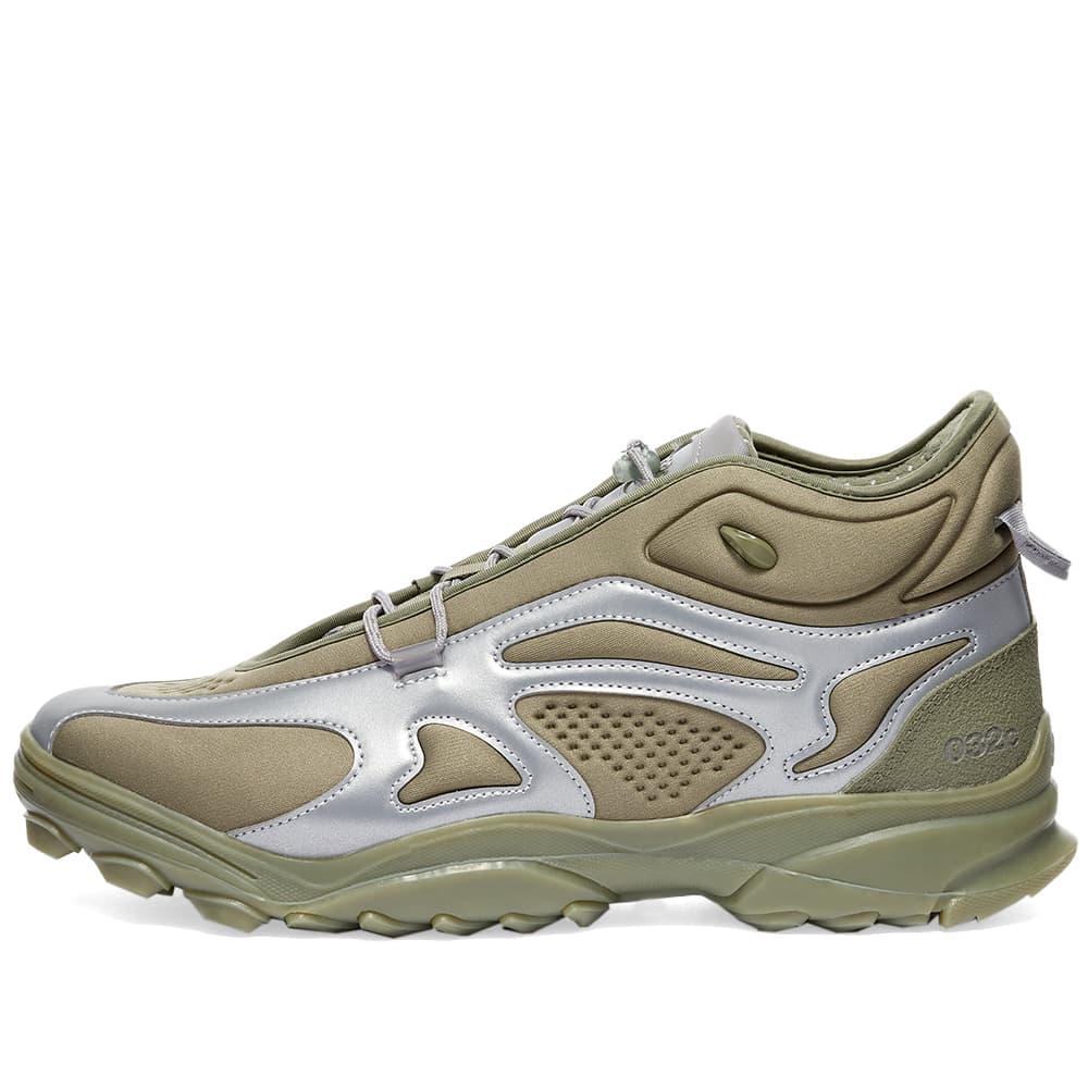 Adidas x 032c GSG Running - Stone Green & Dove Grey