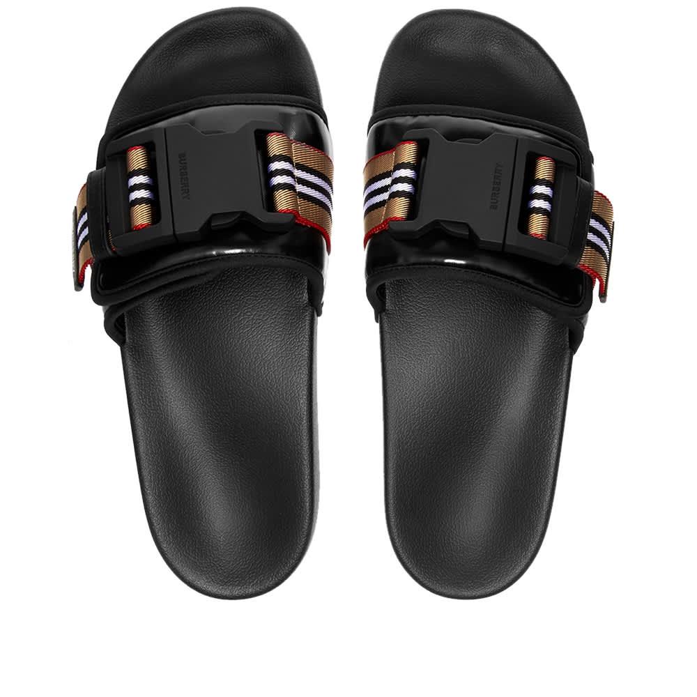Burberry Cameron Clip Sandal - Black