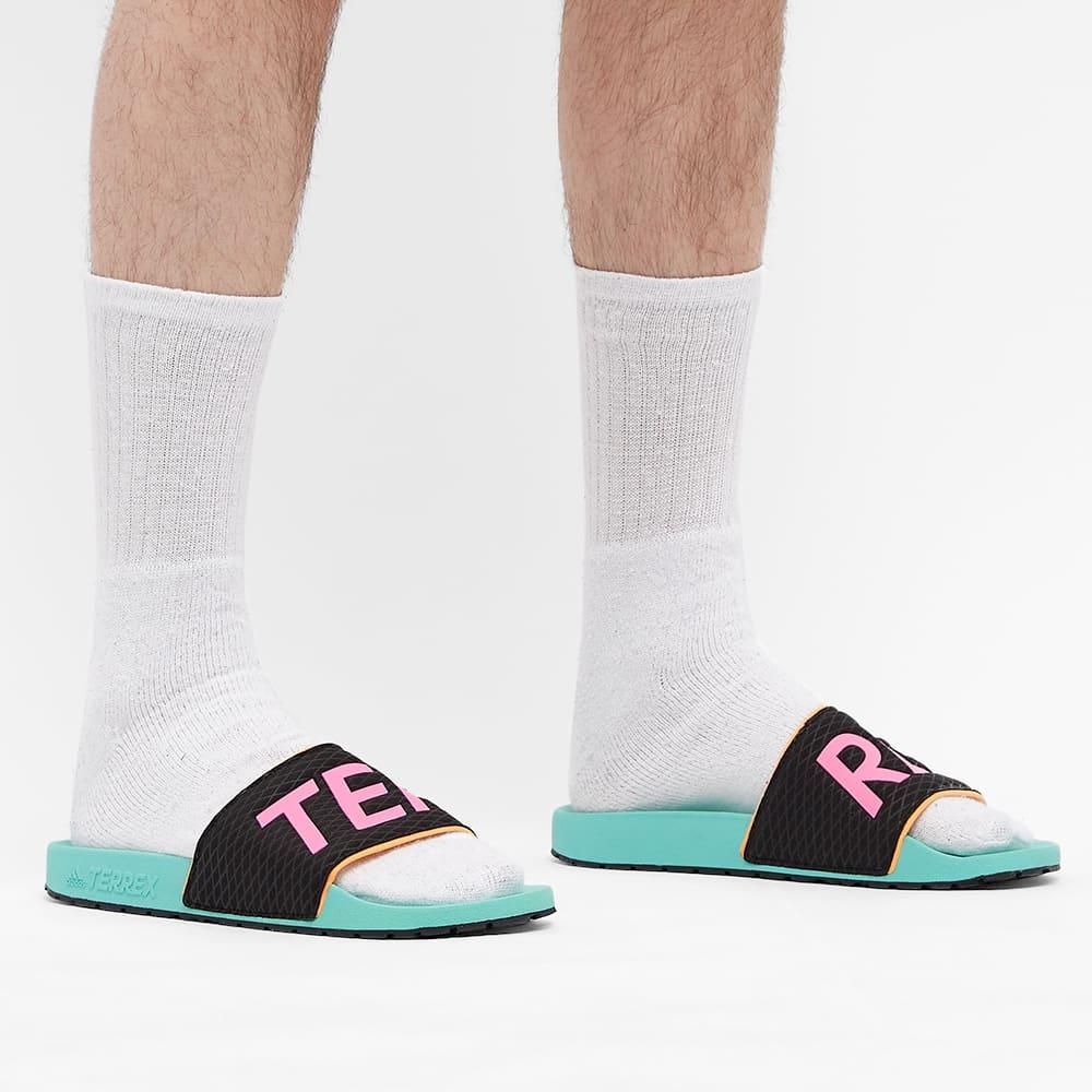 Adidas Terrex Adilette - Acid Mint, Pink & Orange
