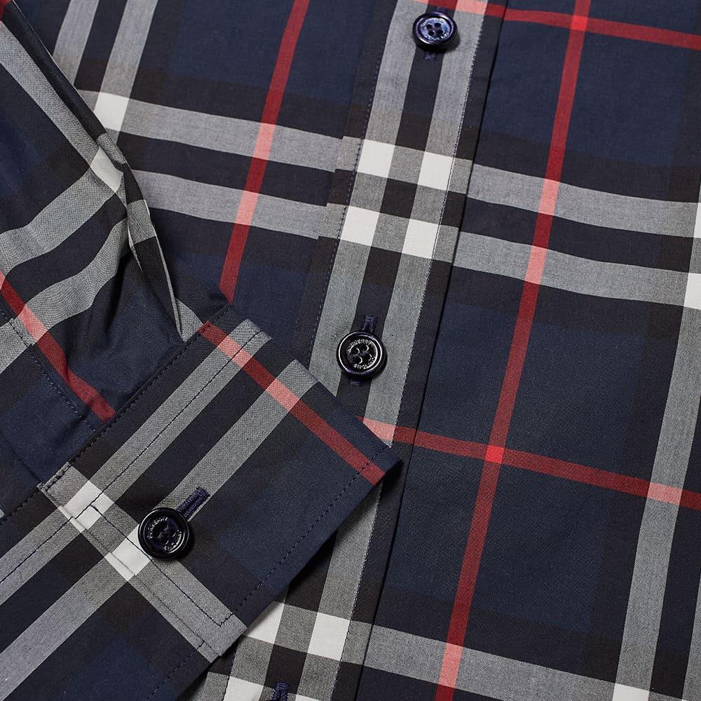 Burberry Caxton Check Shirt - Navy IP Check
