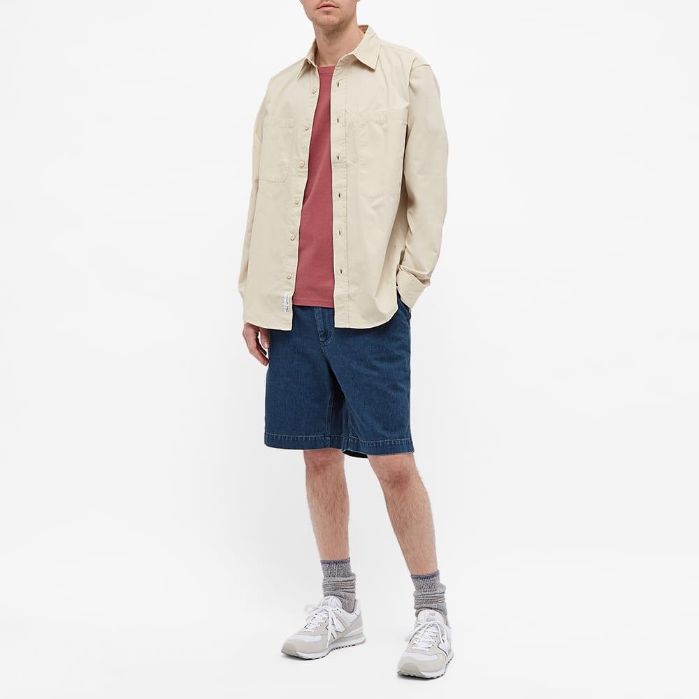 Adsum Asymmetrical Pocket Workshirt - Beige