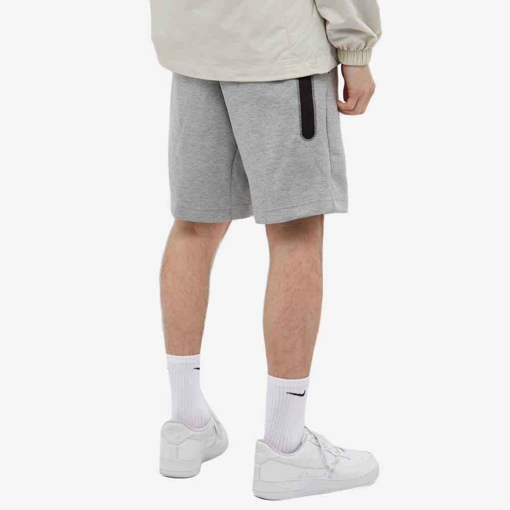 Nike Tech Fleece Short - Dark Grey Heather & Black