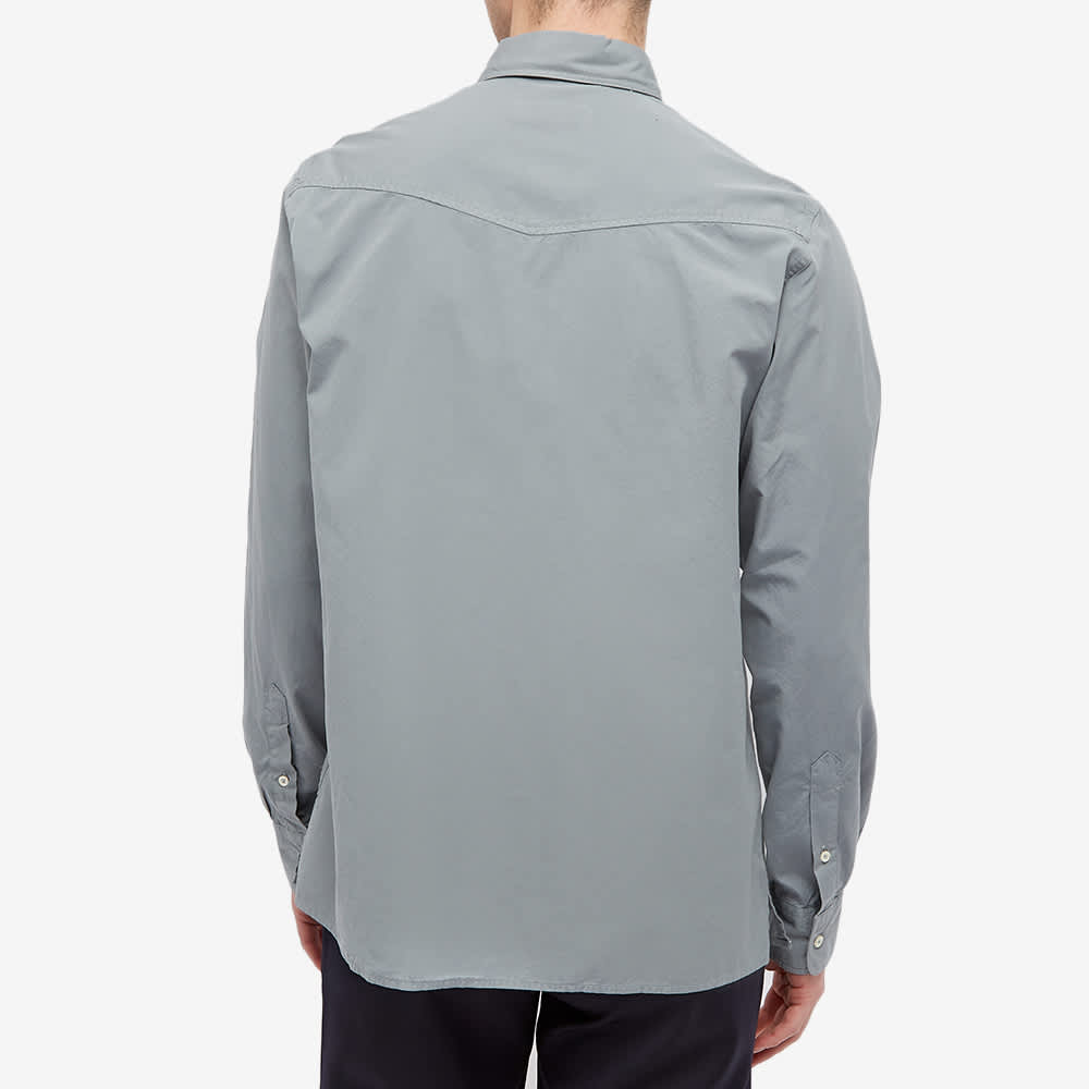 Officine Générale Arsene Pigment Dyed Shirt - Concrete