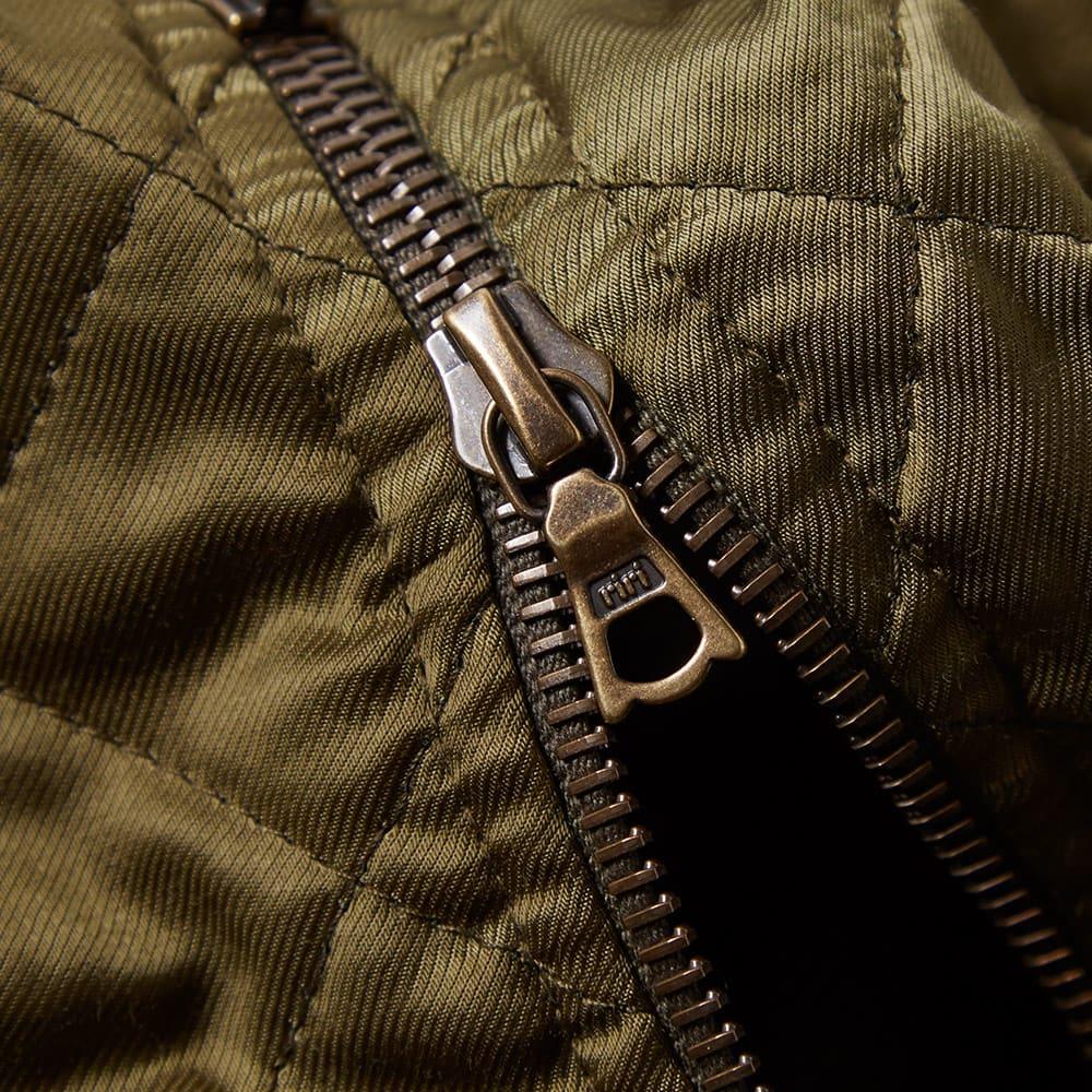 Dries Van Noten Hamish Quilted Bomber Jacket - Khaki