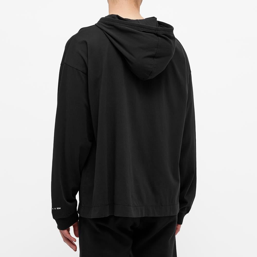 END. x 1017 Alyx 9SM Buckle Print Hooded Sweat - Black