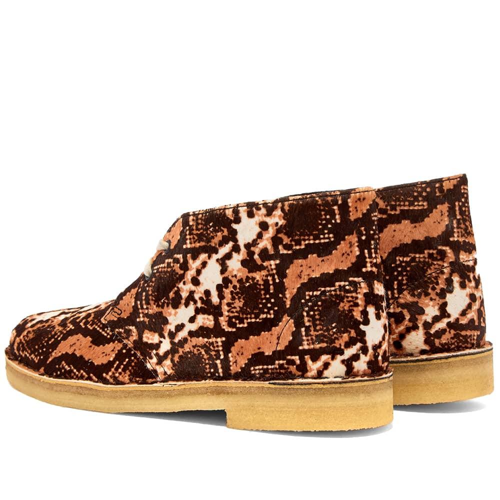 Clarks Originals Desert Boot W - Tan Snake Print