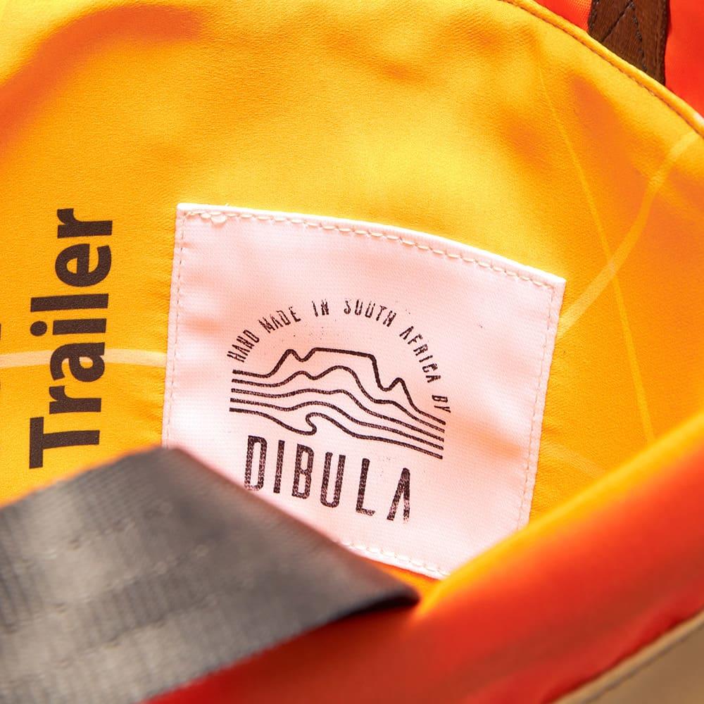 Sealand String Bag - Tan & Orange