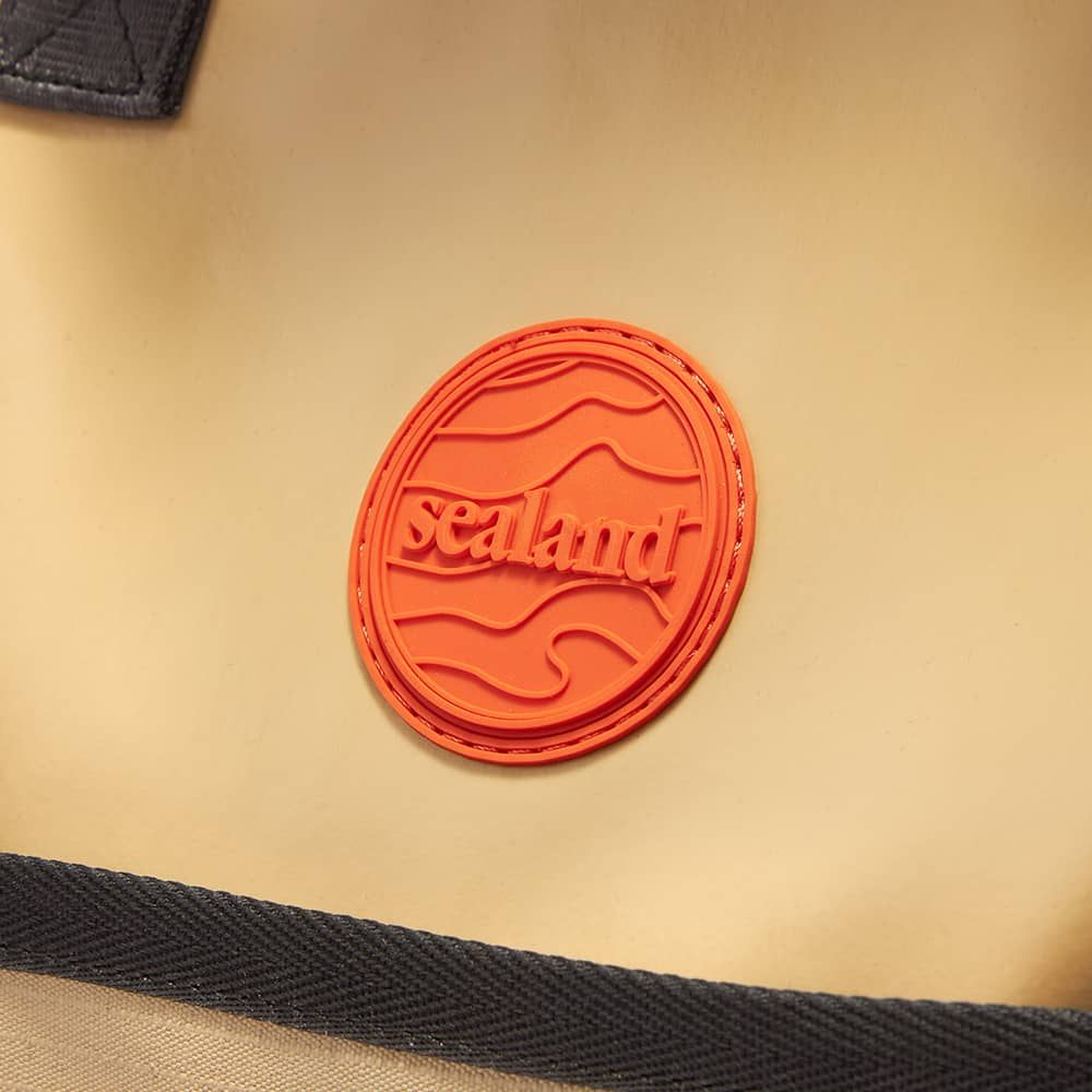 Sealand Small Swish Tote - Tan & Orange