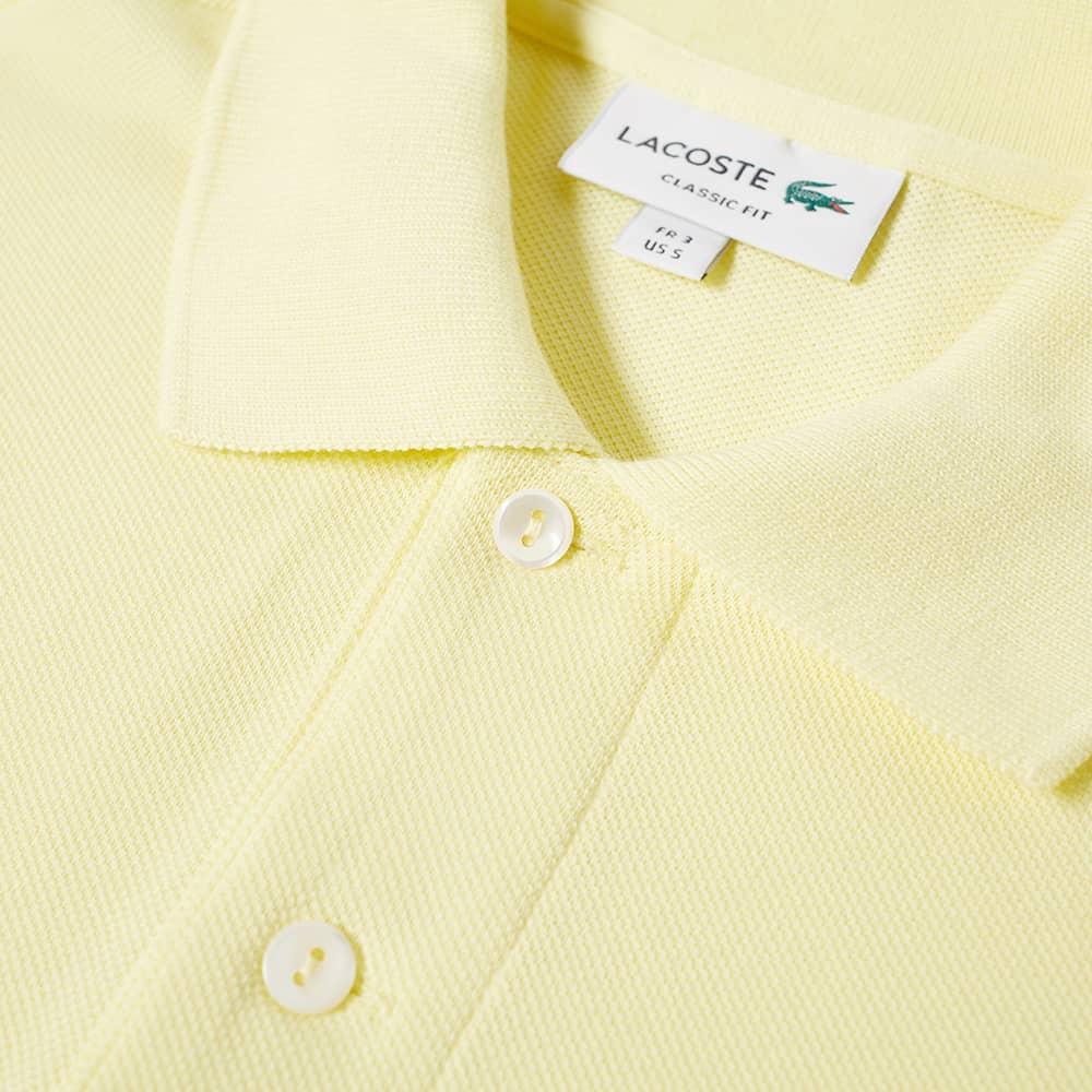 Lacoste Classic L12.12 Polo - Yellow
