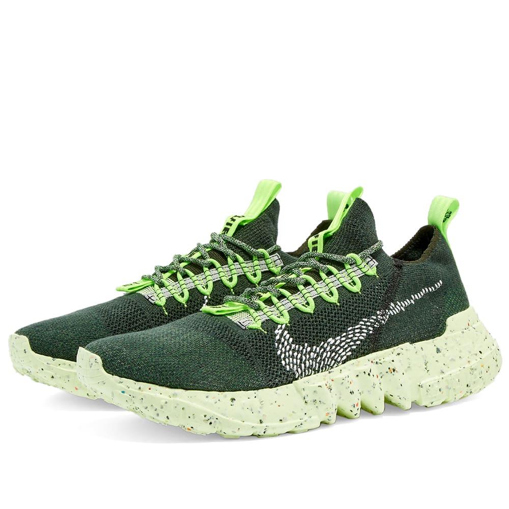 Nike Space Hippie 01 - Green, Black & Volt