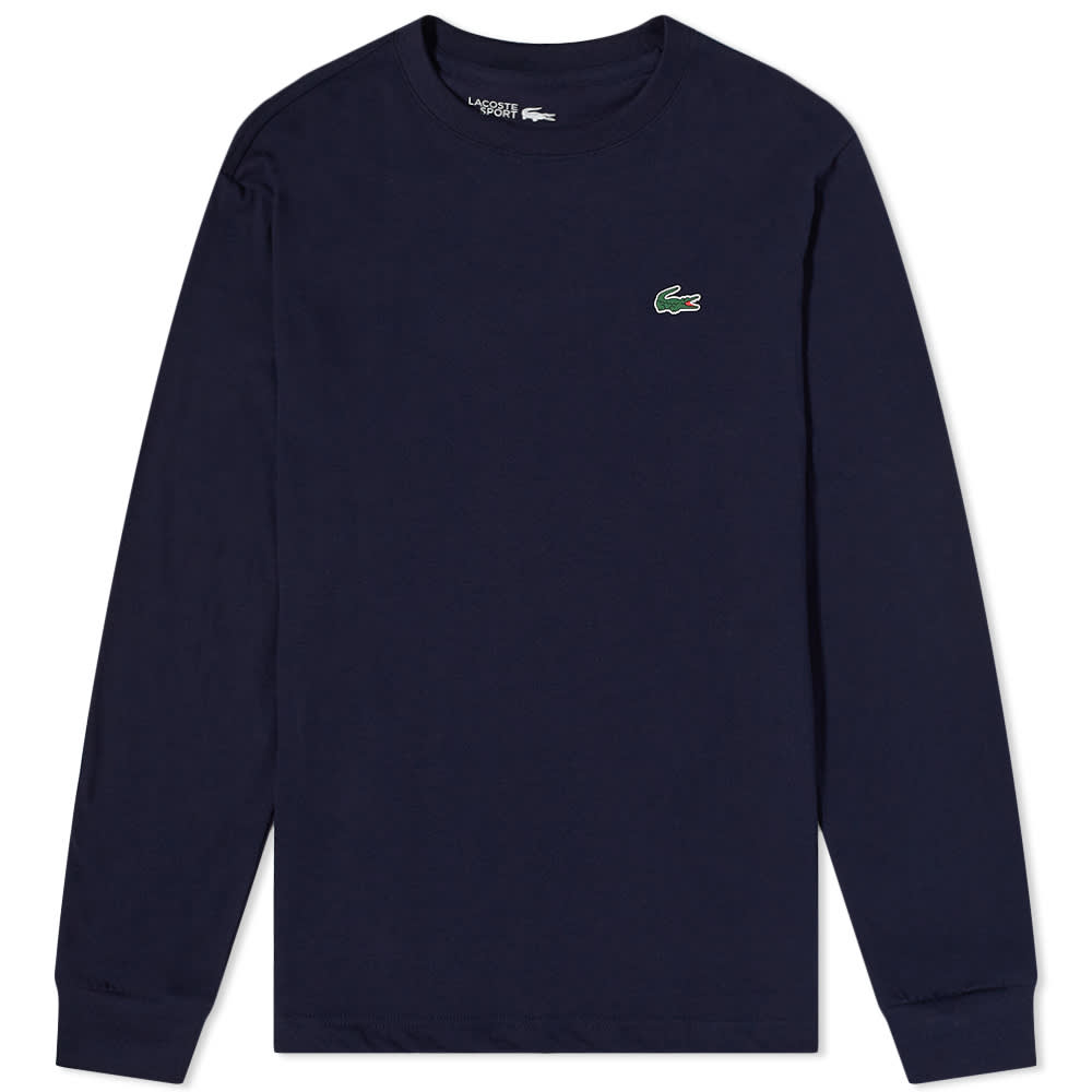 Lacoste Long Sleeve Classic Tee - Navy