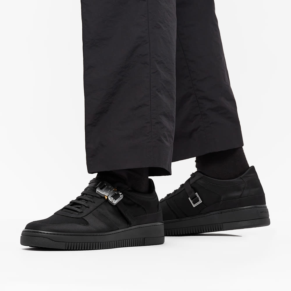 1017 ALYX 9SM Satin Buckle Low Sneaker - Black