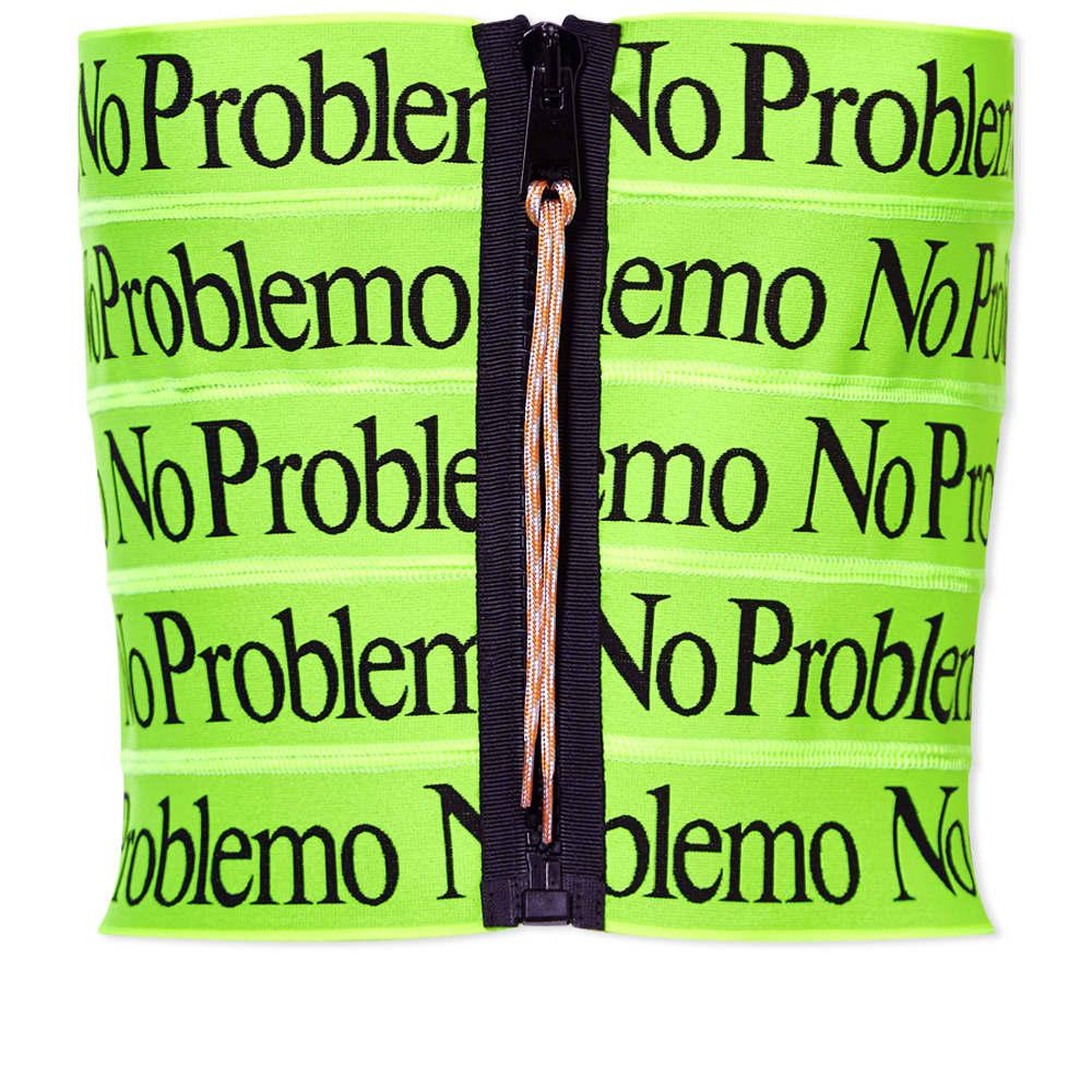 Aries No Problemo Logo Elastic Top