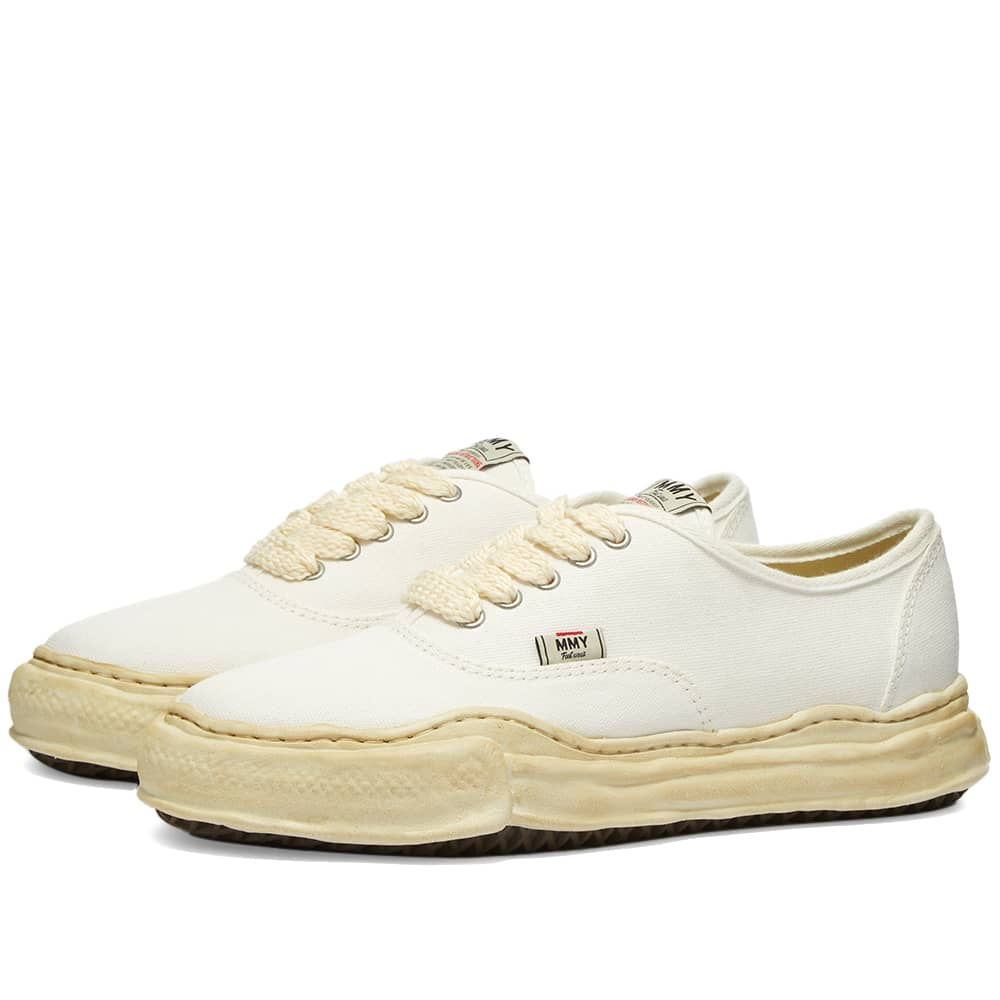 Maison MIHARA YASUHIRO Baker Original Low Top Canvas Sneaker - White