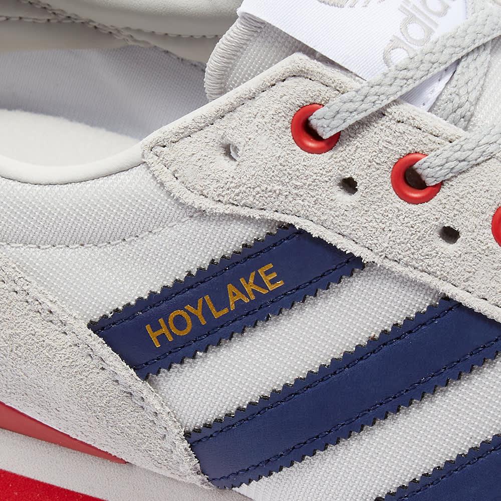 Adidas SPZL Hoylake - Grey One & Powder Red