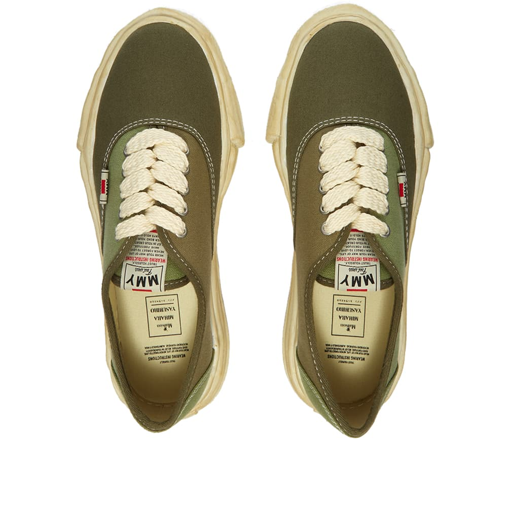 Maison MIHARA YASUHIRO Baker Original Low Top Canvas Sneaker - Green
