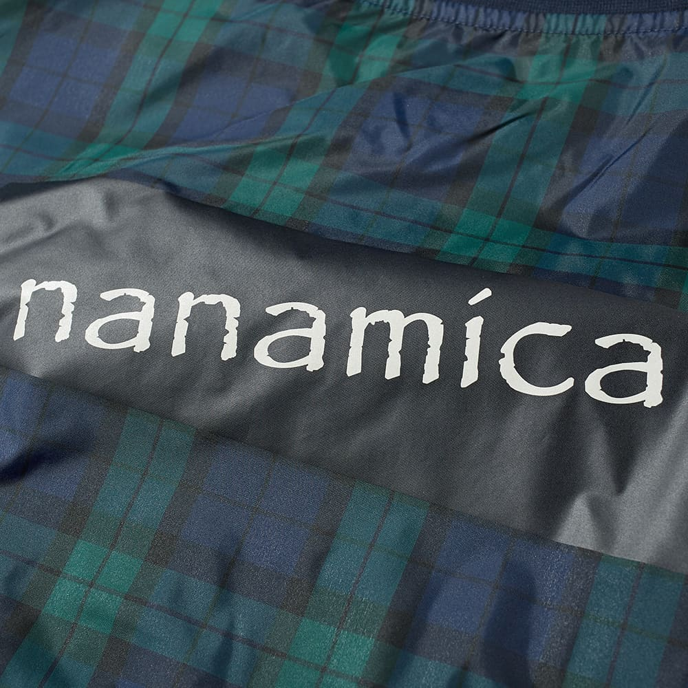 Nanamica Wind Sweat - Black Watch