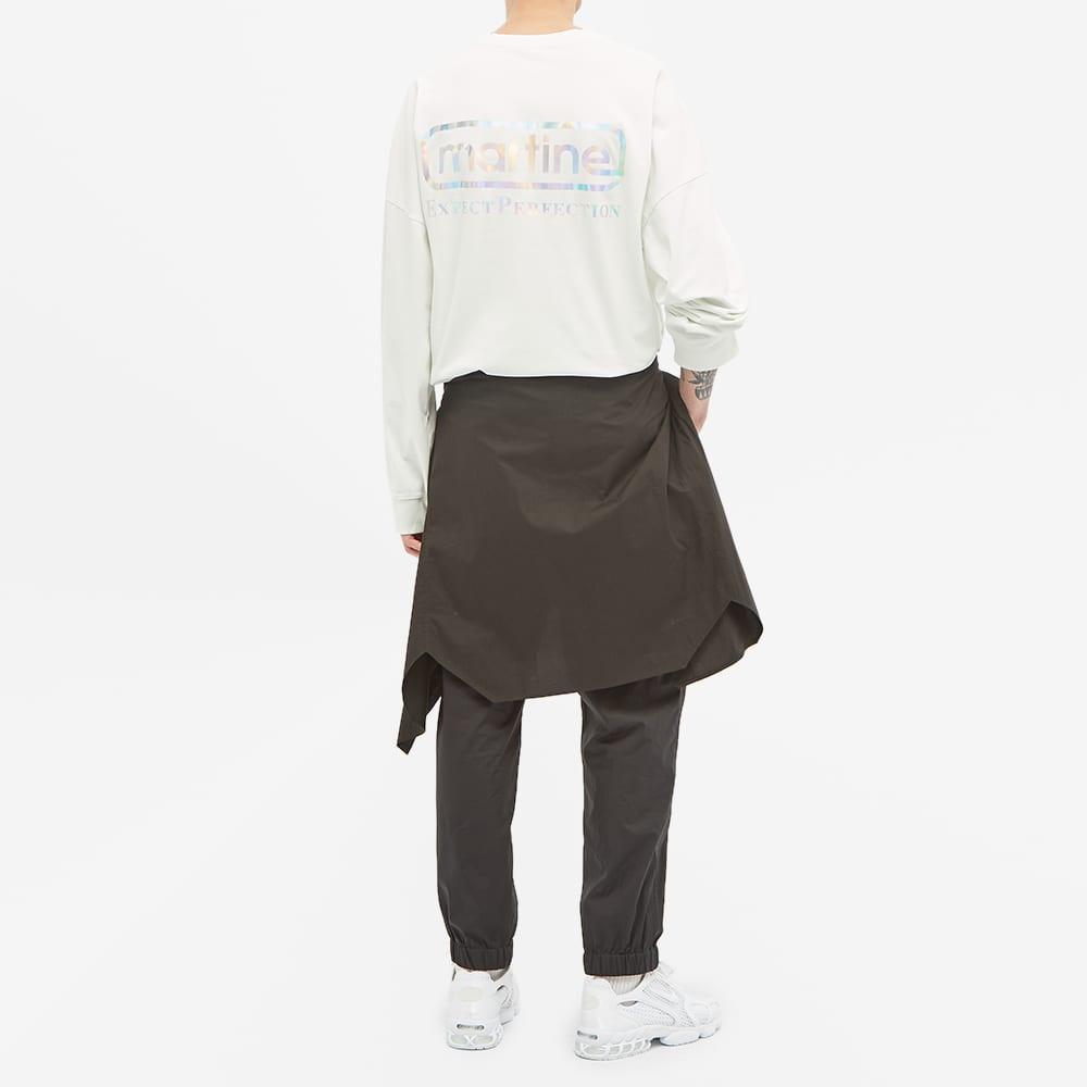 Martine Rose Perfection Backprint Long Sleeve Tee - White