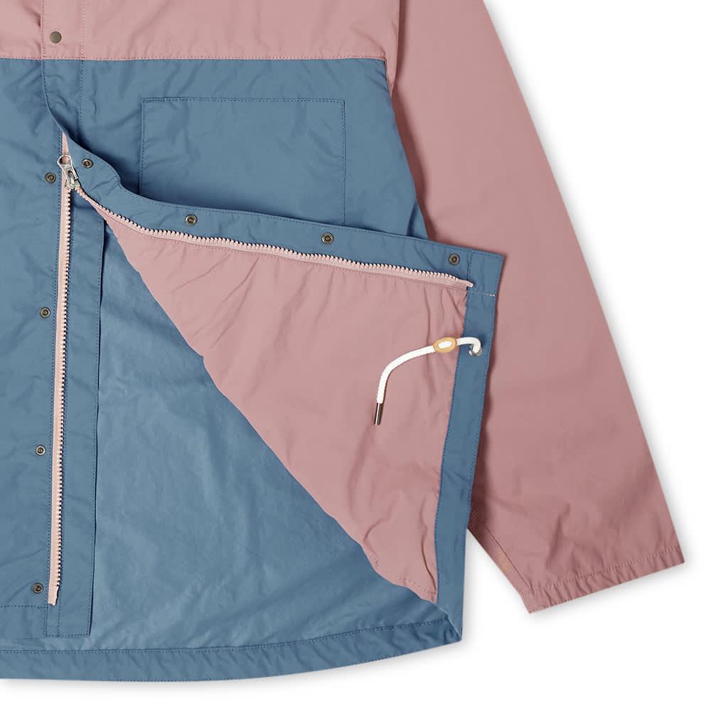 Nanamica Two-Tone Cruiser Jacket - Pink & Blue