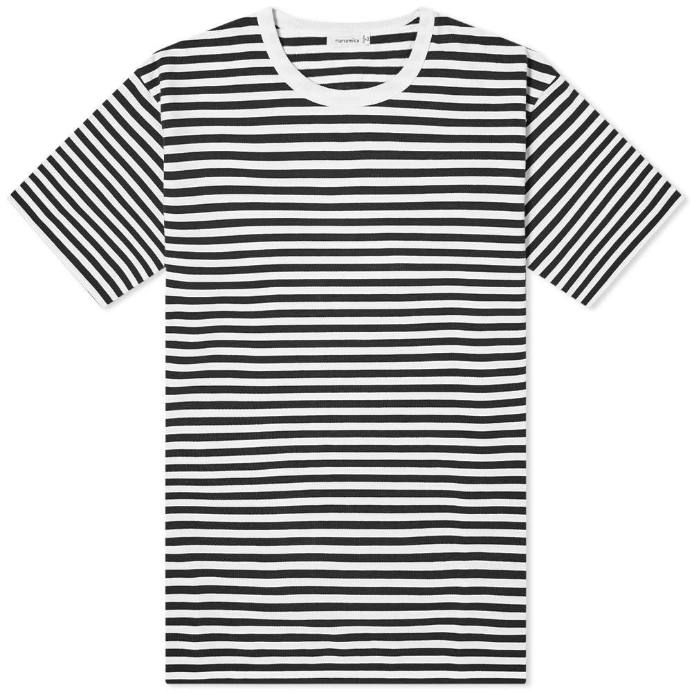 Nanamica CoolMax Jersey Tee - Black & White