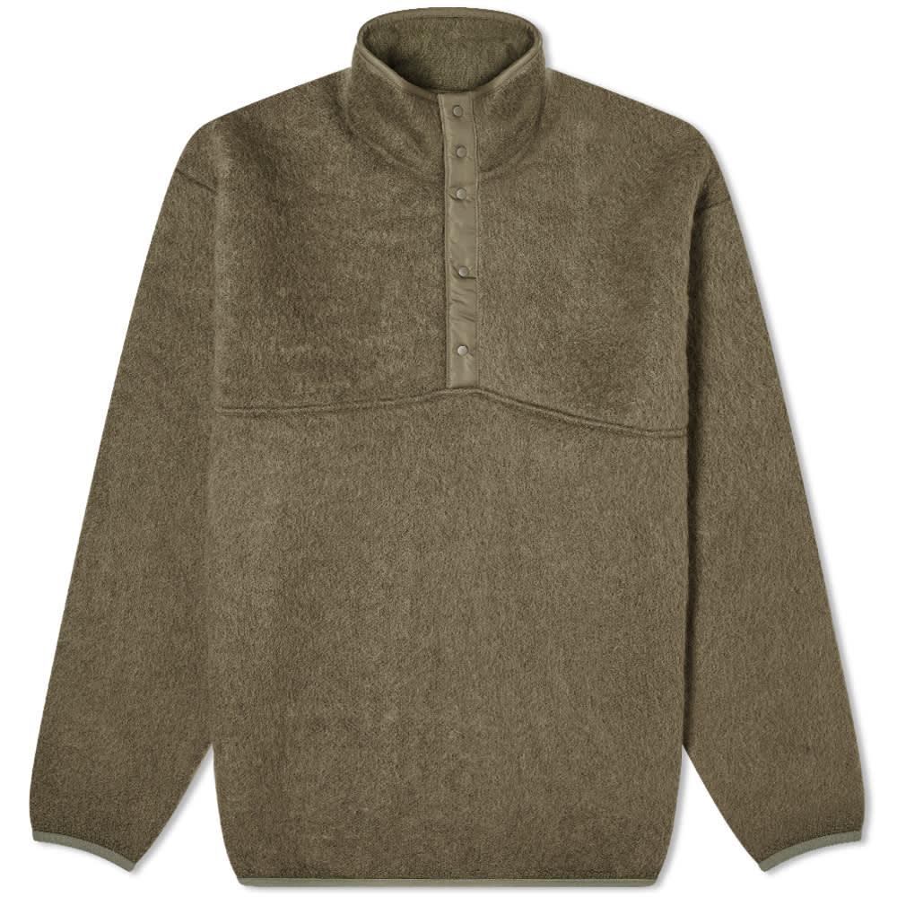 Nanamica Nanamican Pullover Sweat - Olive